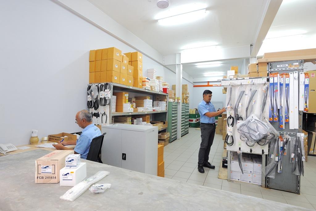 SDAC Kuching parts store