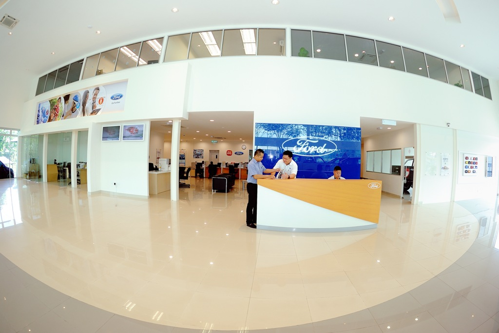 SDAC Kuching reception area