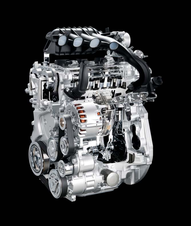 32 All-New Serena_MR20DD Engine
