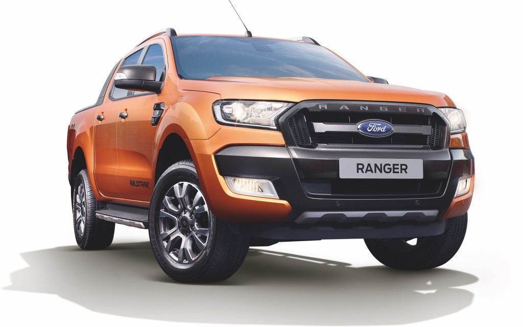 Ford Ranger 2.2L Wildtrak Front View