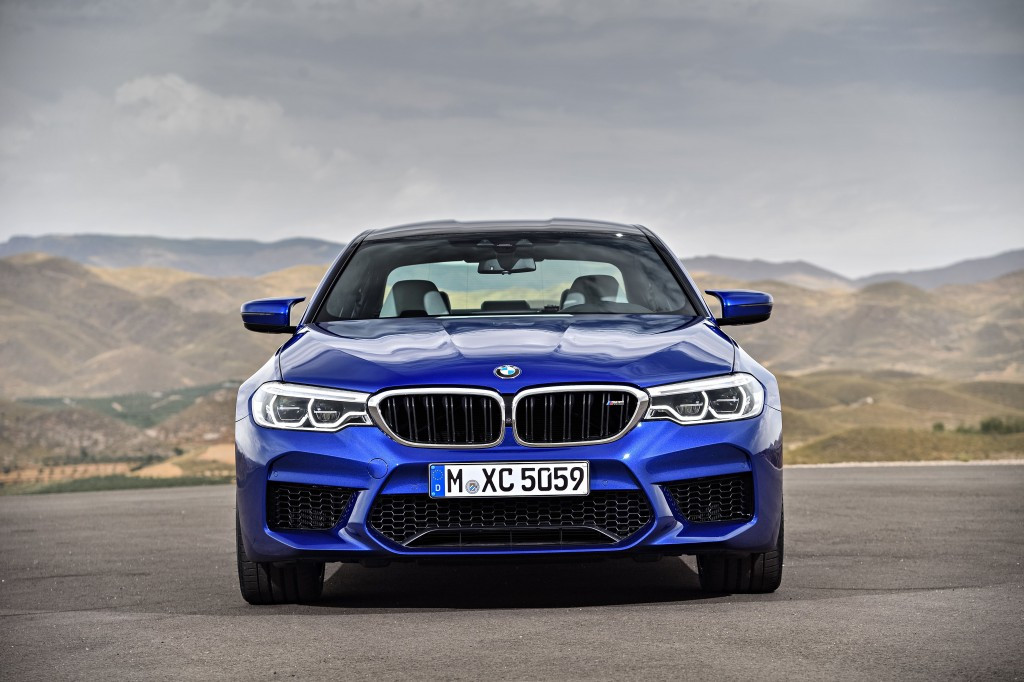 The New BMW M5 (1)
