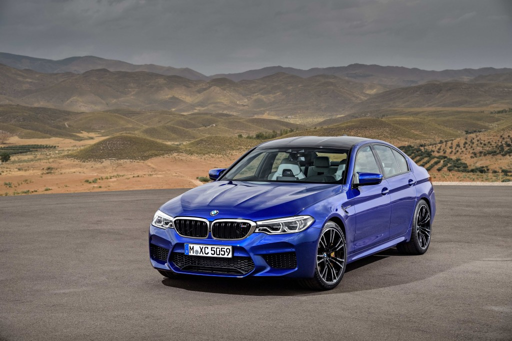The New BMW M5 (2)