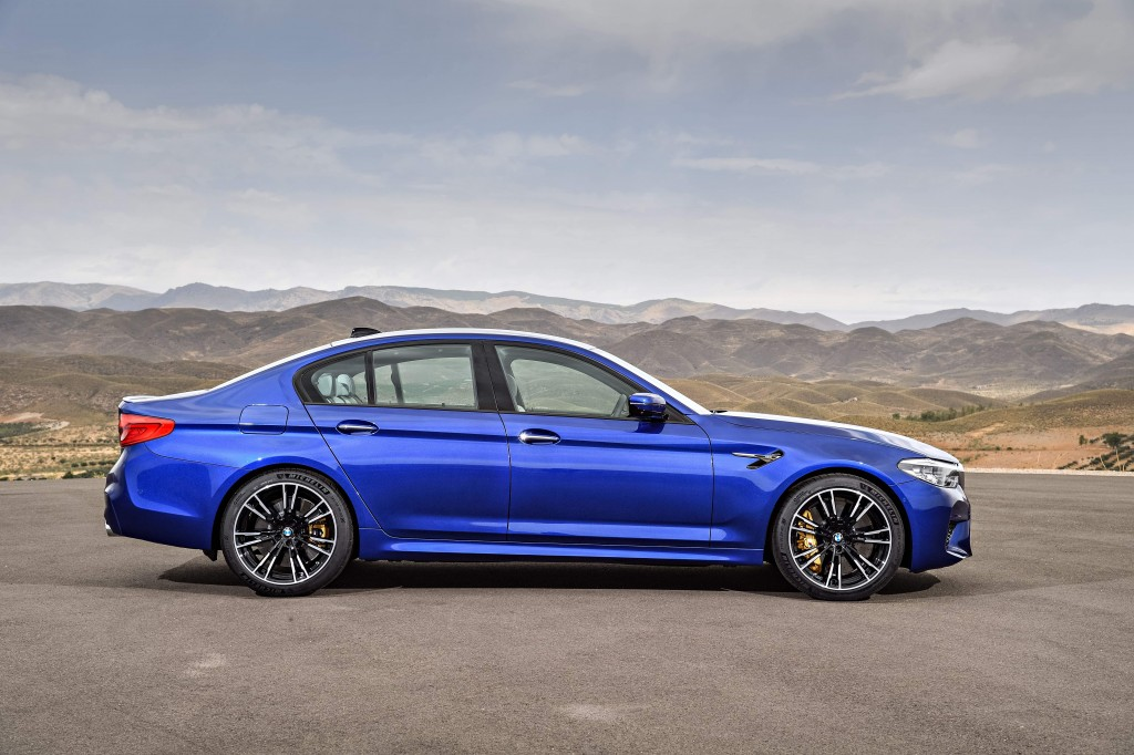 The New BMW M5 (3)