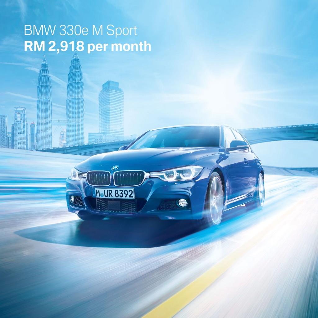 1. BMW 330e M Sport
