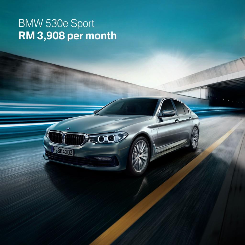 2. BMW 530e Sport