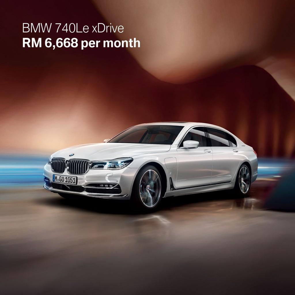 3. BMW 740Le xDrive