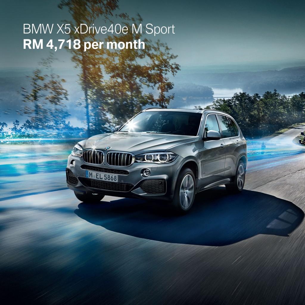 4. BMW X5 xDrive40e M Sport