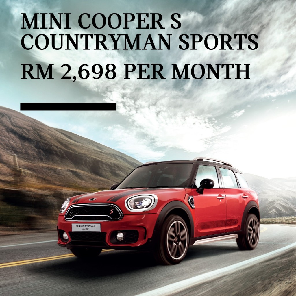 4. MINI Cooper S Countryman Sports