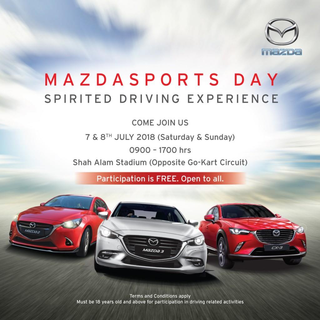 MazdaSports Day - 7 & 8 July 2018